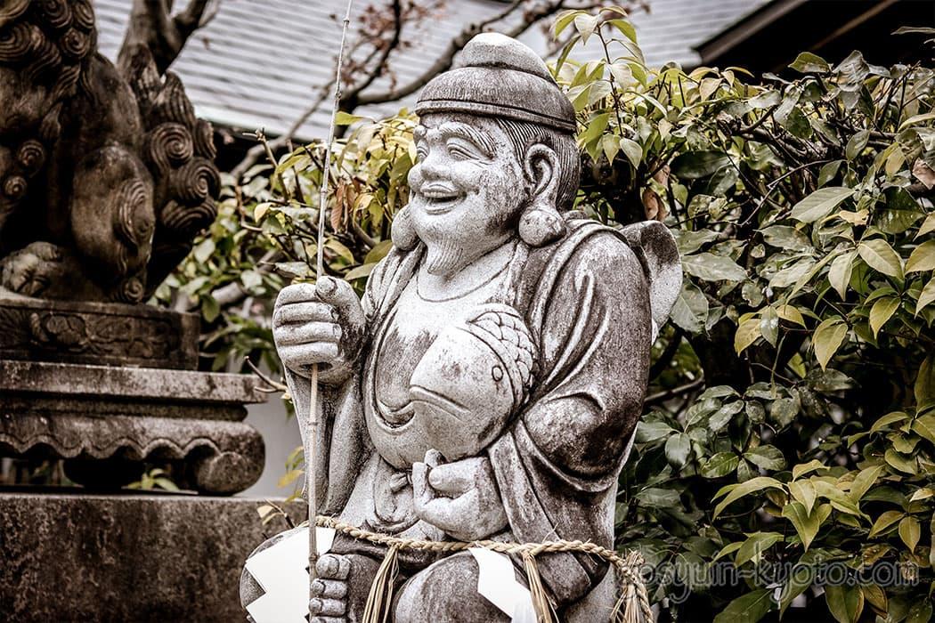 京都えびす神社のえびす様