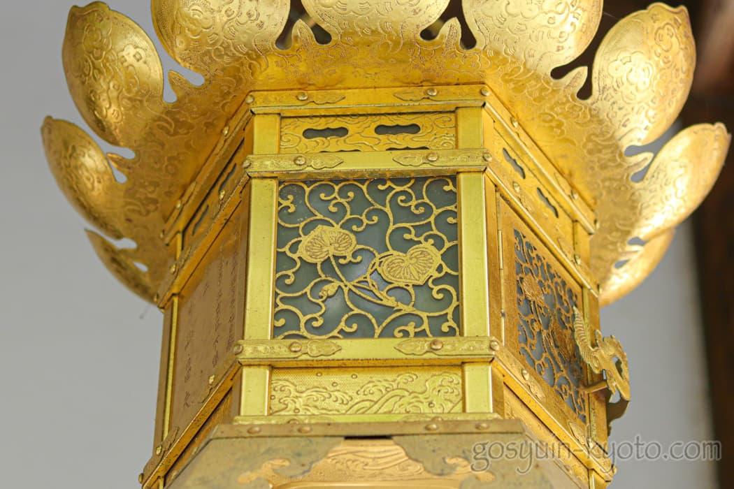 京都市左京区の河合神社の双葉葵