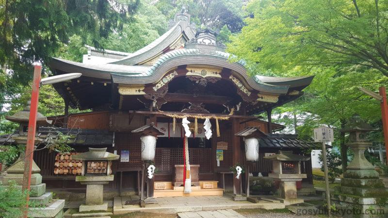 粟田神社 本堂