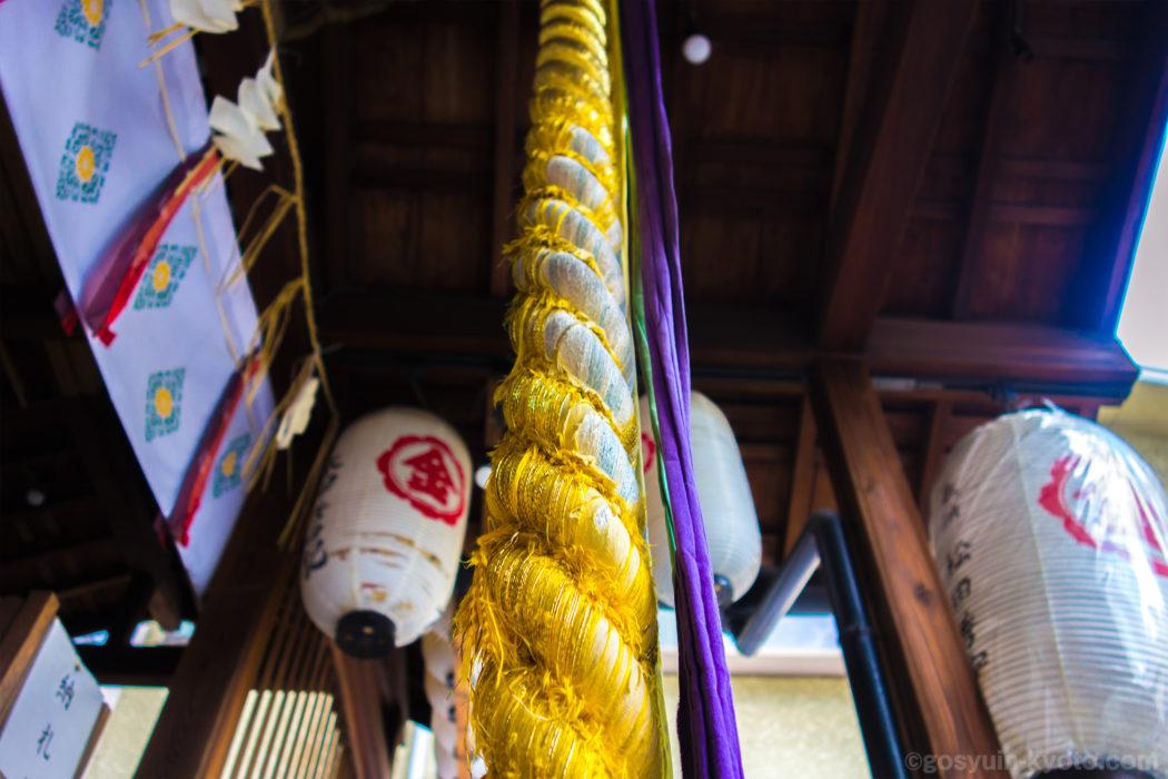 中京区の御金神社の御朱印