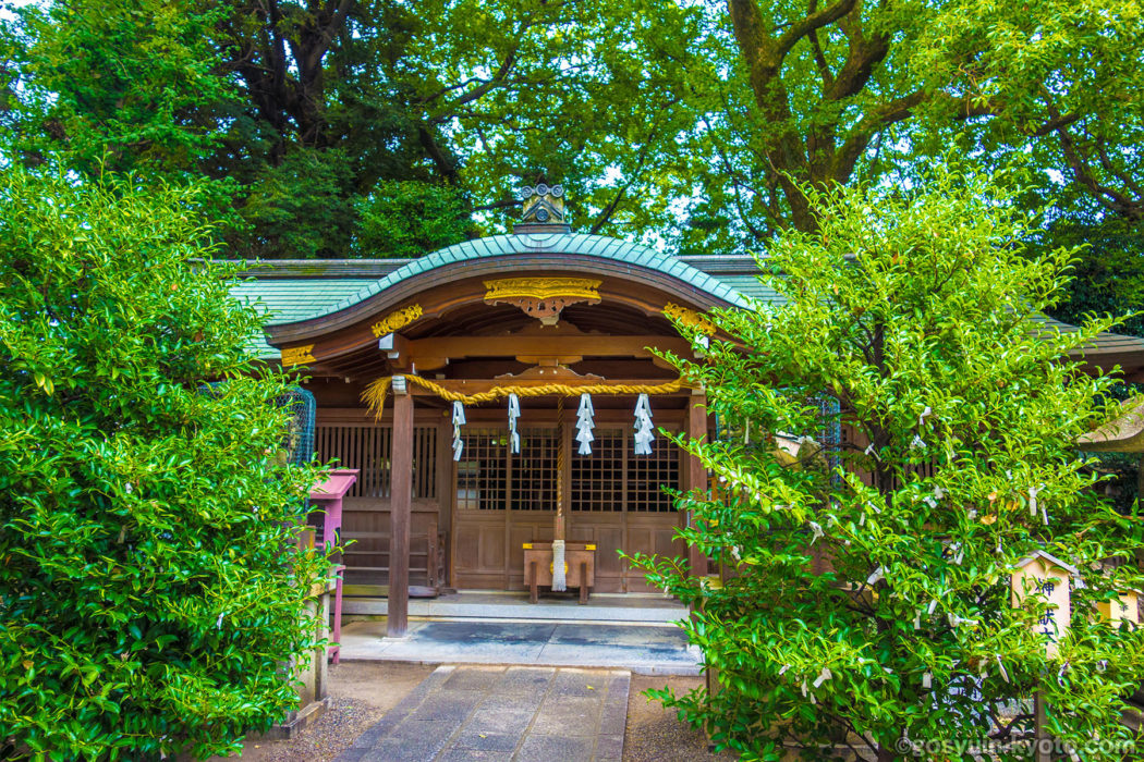 京都市右京区 山王神社 の 御朱印