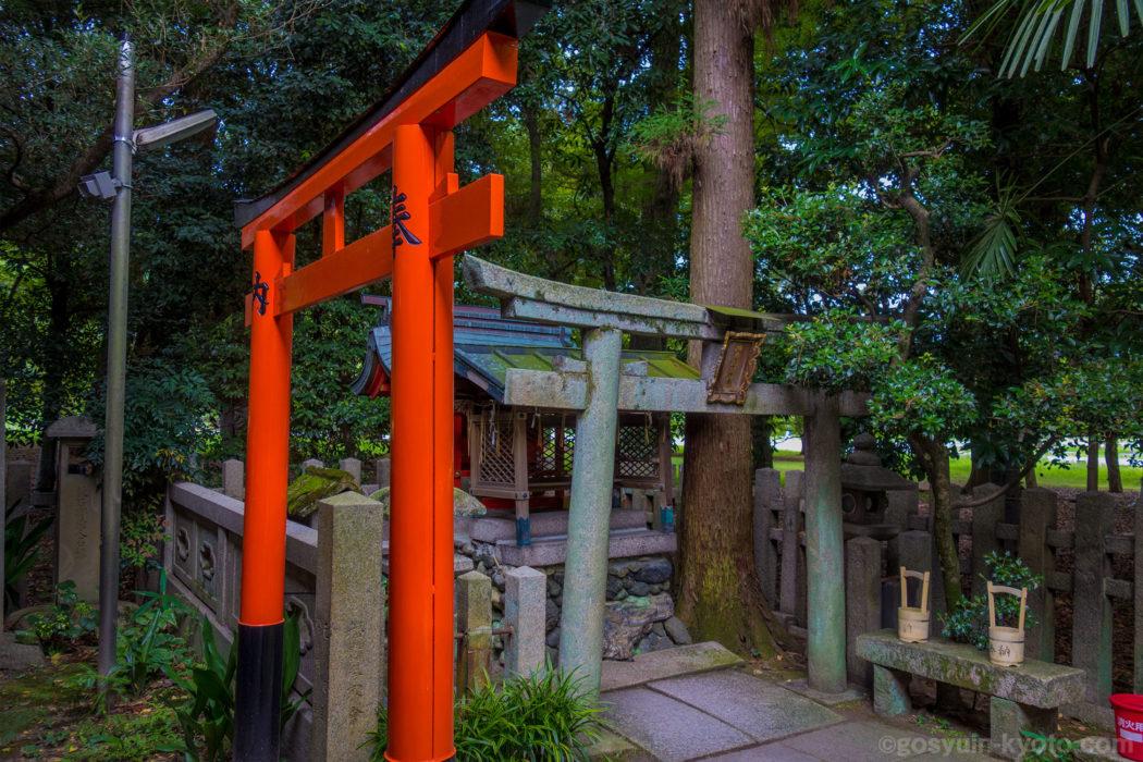 上京区 の 京都御苑内 にある 白雲神社 の 御朱印