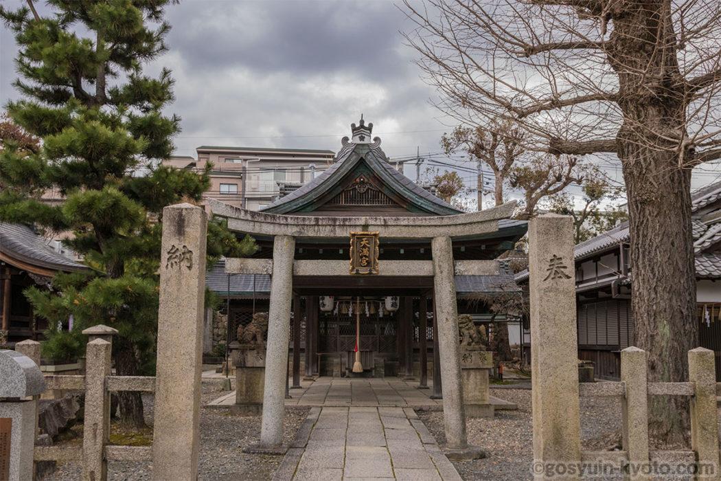 御香宮神社の桃山天満宮