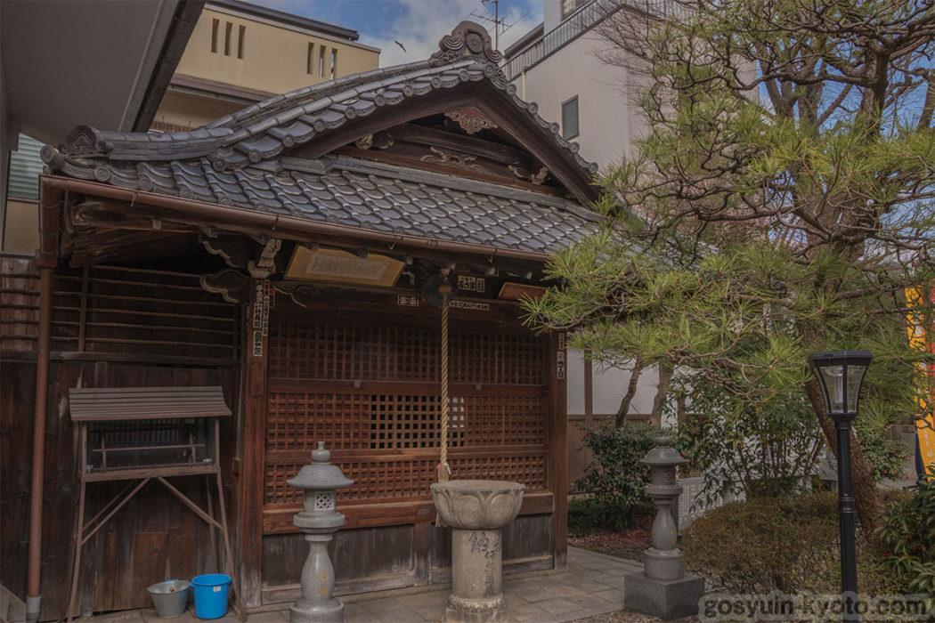 行願寺の寿老人神堂