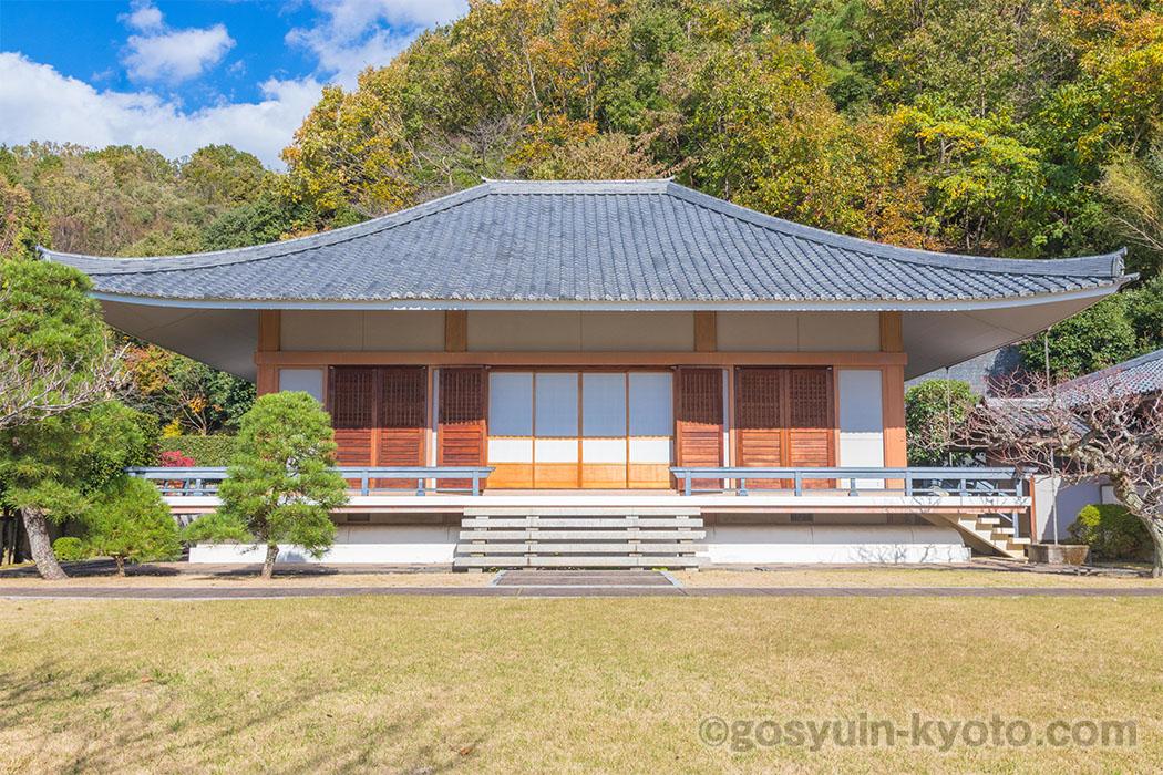 京都十二薬師霊場第8番札所の大超寺の本堂
