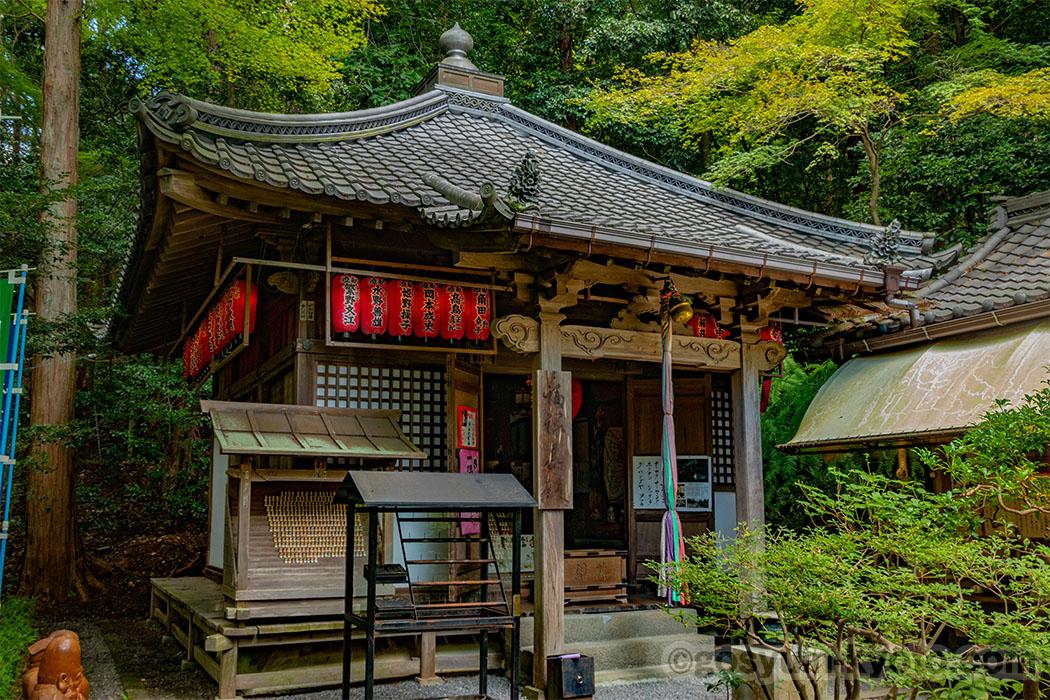 赤山禅院の福禄寿殿