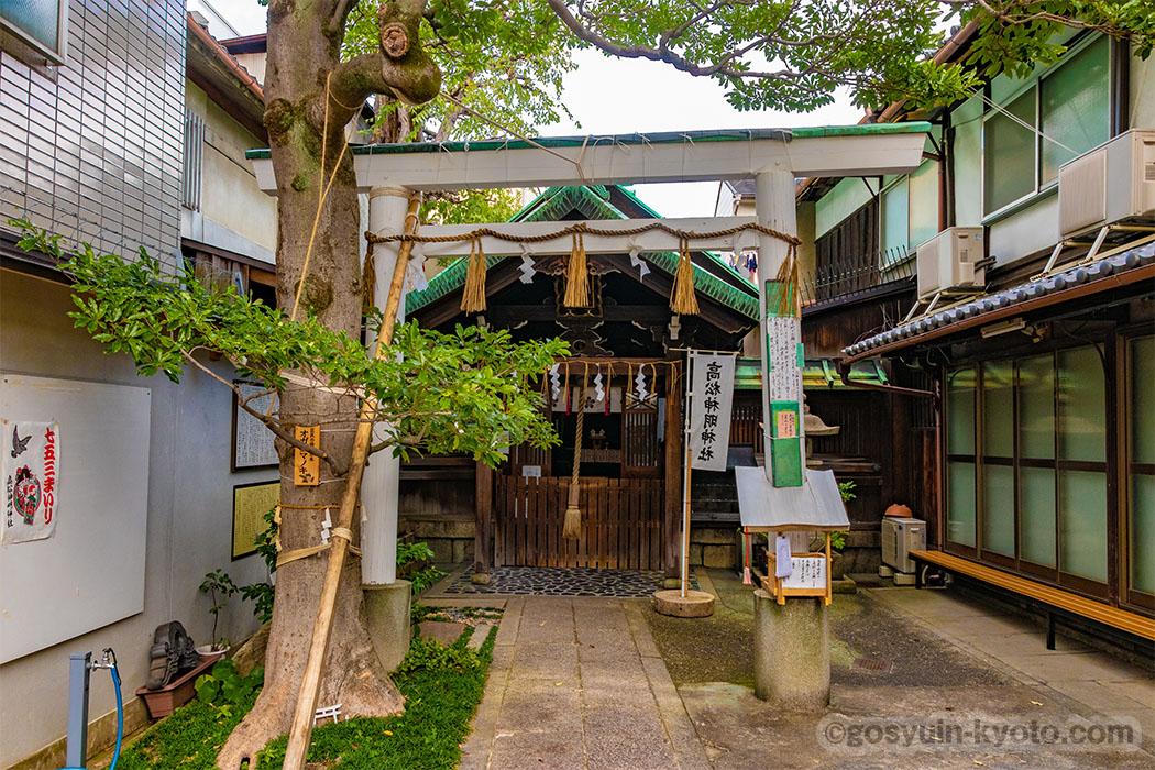 高松神明神社の本殿