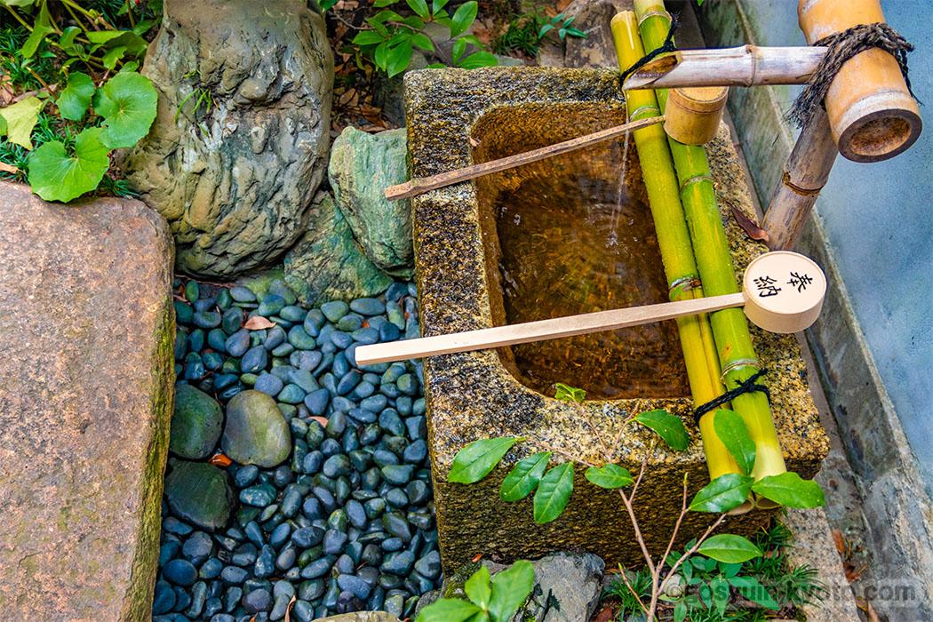 高松神明神社の水琴窟