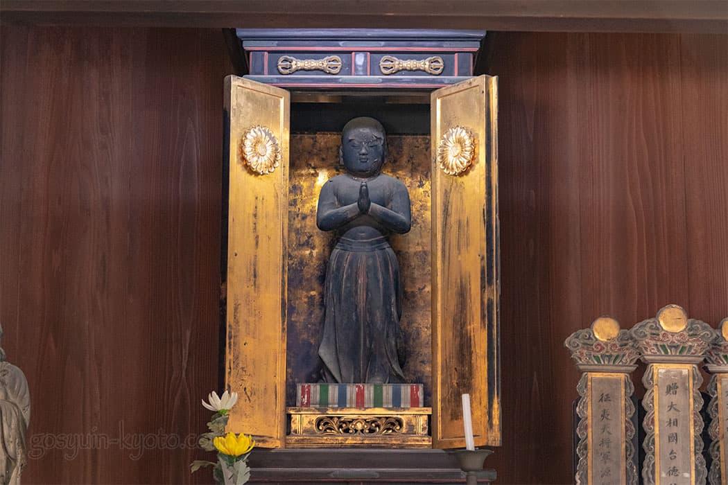 京都市東山区の八坂の塔(法観寺)の太子堂
