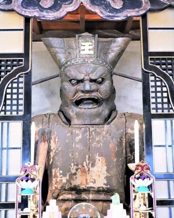 千本ゑんま堂の閻魔様