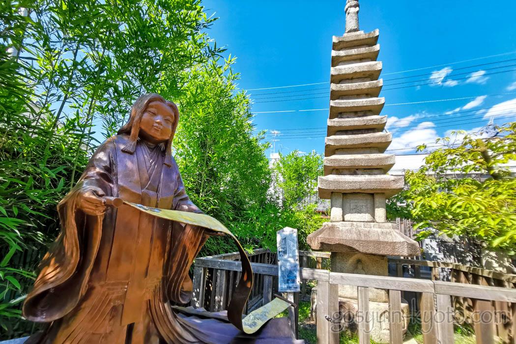 千本ゑんま堂(引接寺)の石塔
