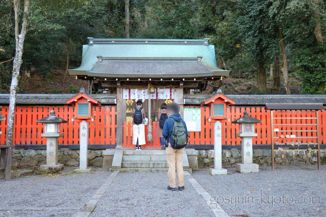櫟谷宗像神社の本殿