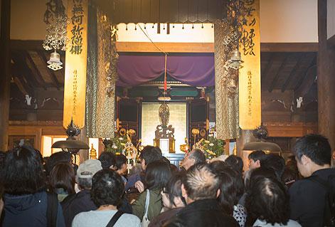 長楽寺の准胝観世音菩薩
