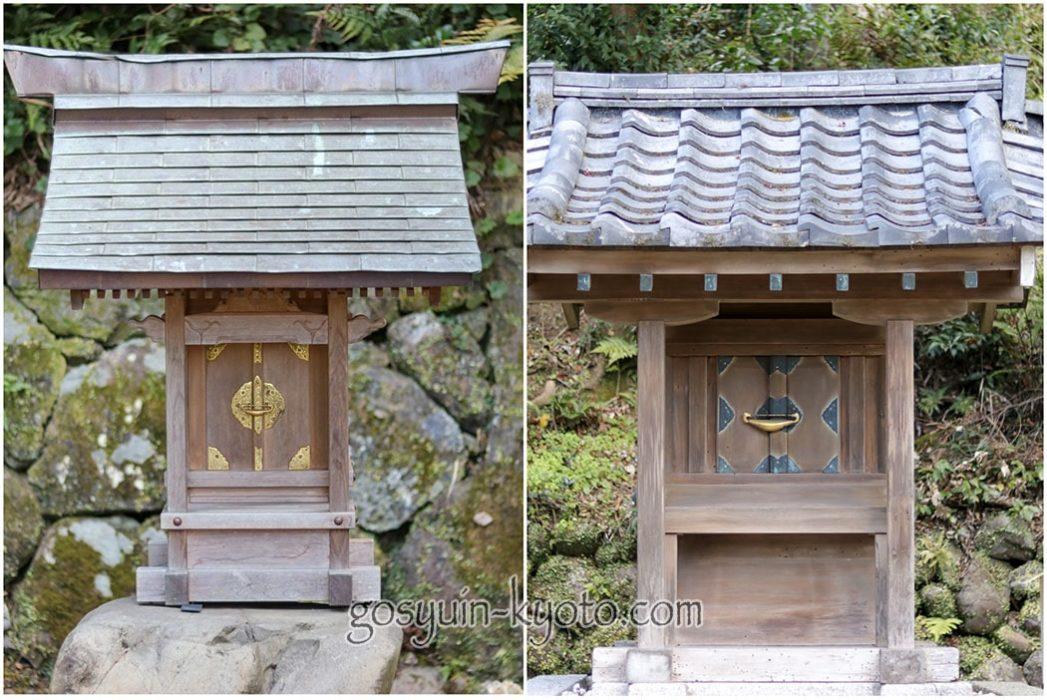 月読神社の御船社と聖徳太子社