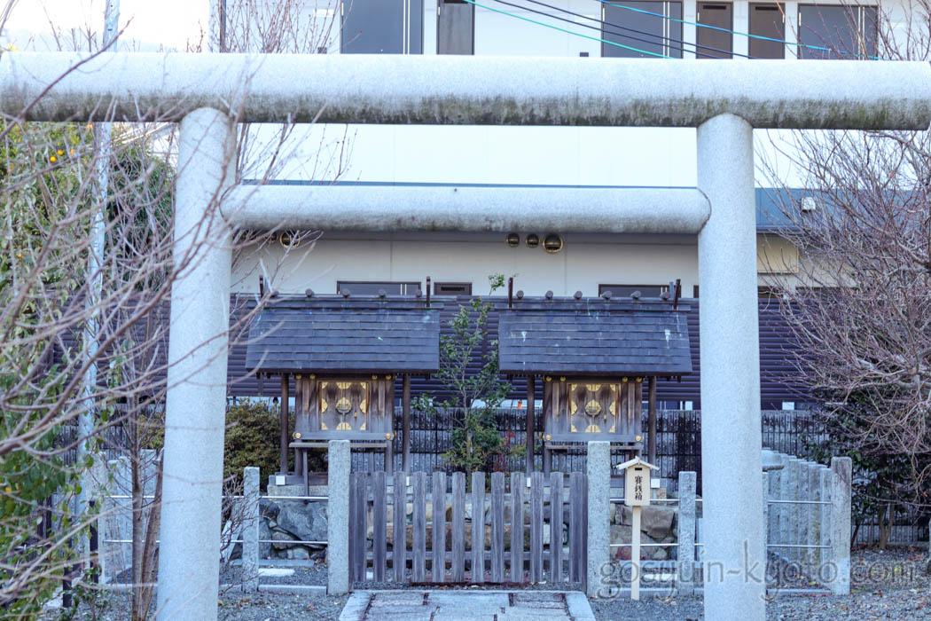 梅宮大社の西梅津神明社