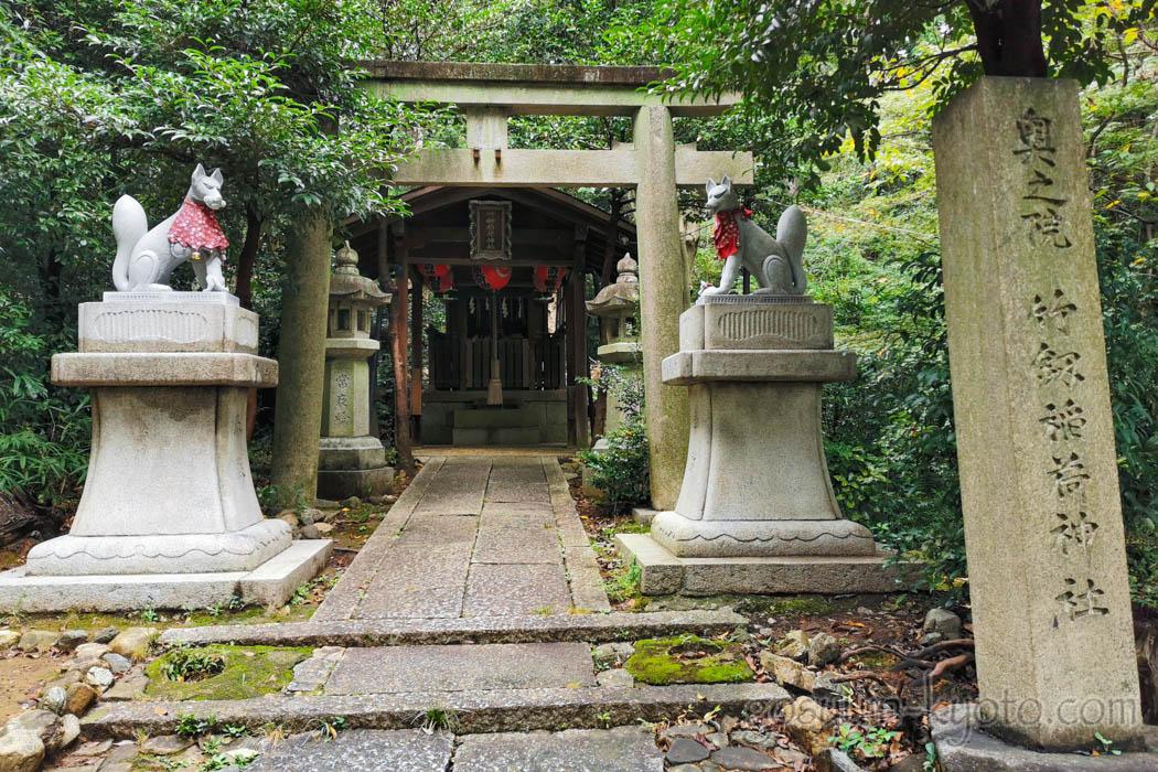 吉田神社の竹中稲荷神社