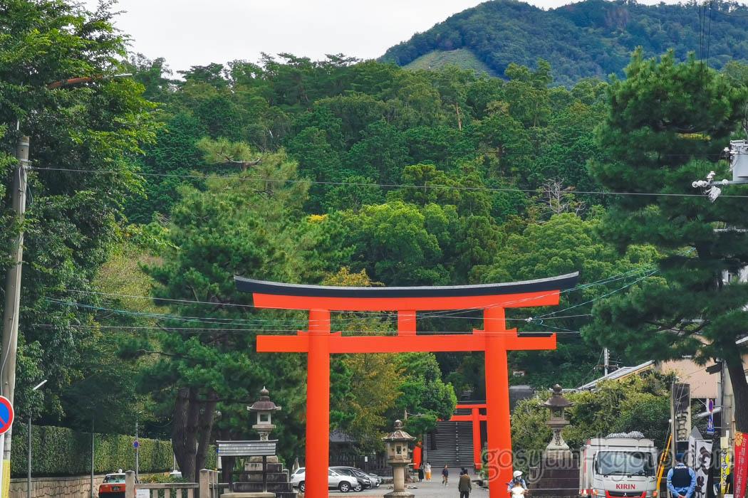 吉田神社の吉田山