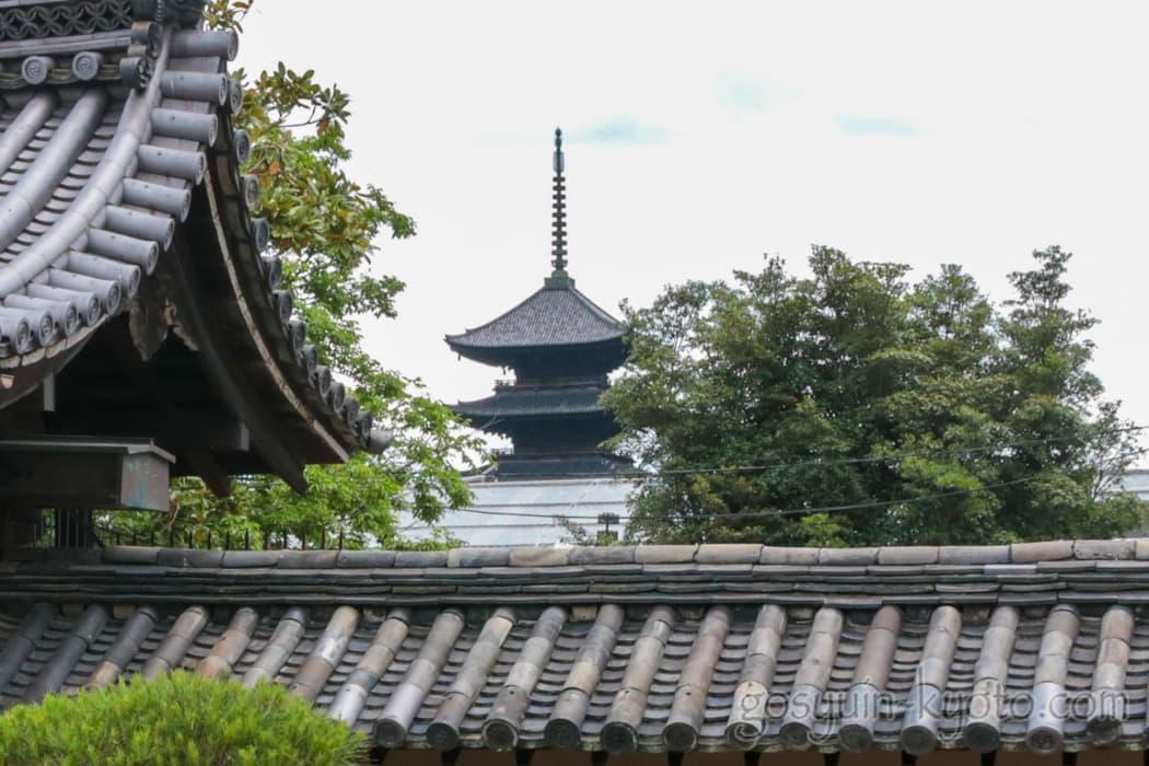 東寺の塔頭の観智院