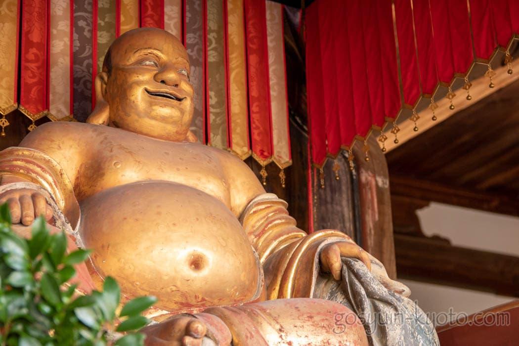 京都府宇治市の萬福寺の布袋尊
