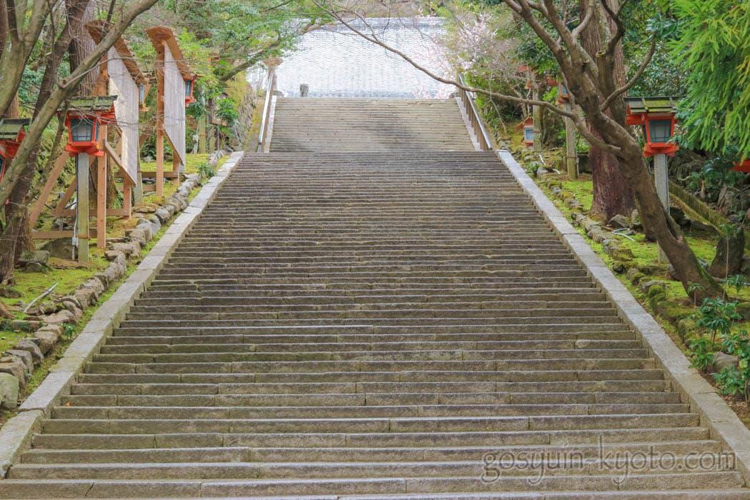 京都市嵐山の法輪寺