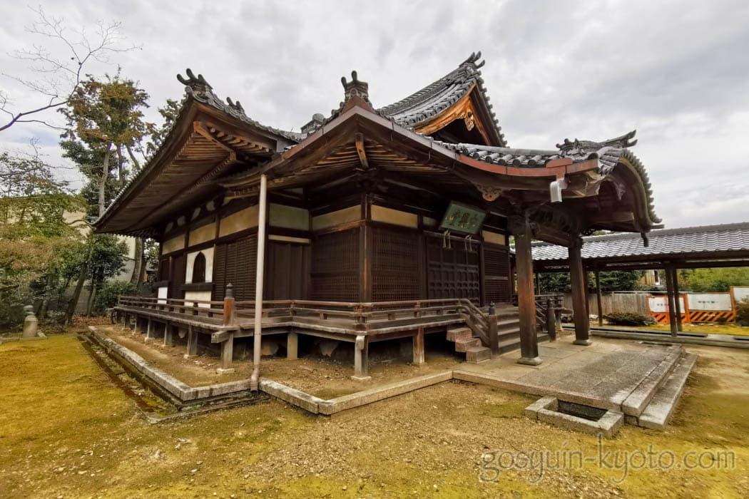 京都市北区の神光院の中興堂