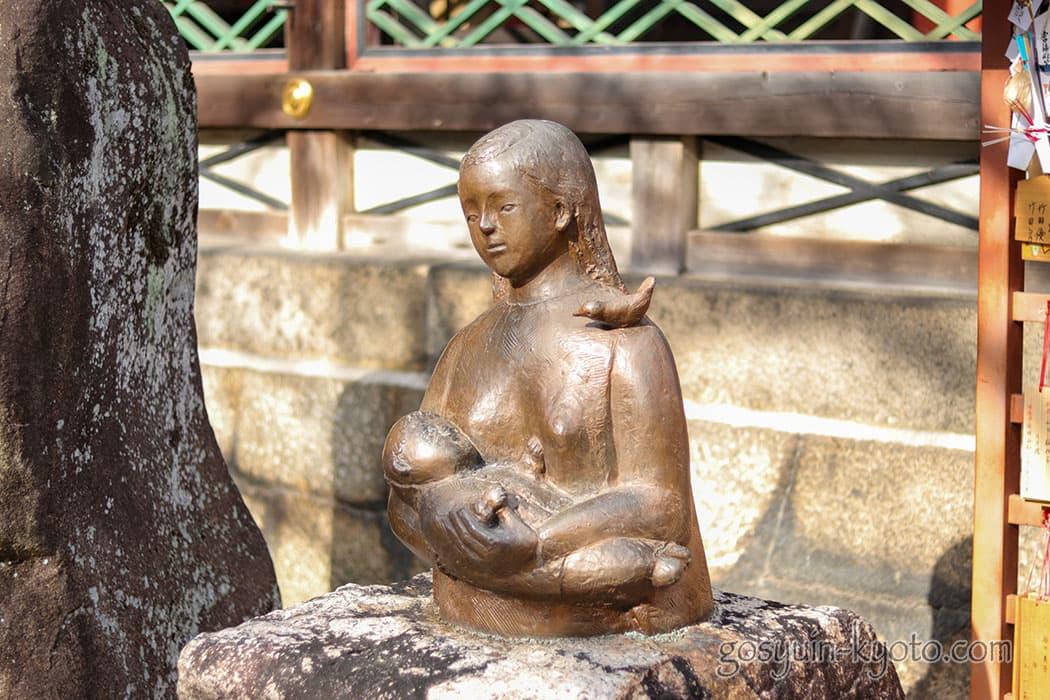 御香宮神社の安産祈願