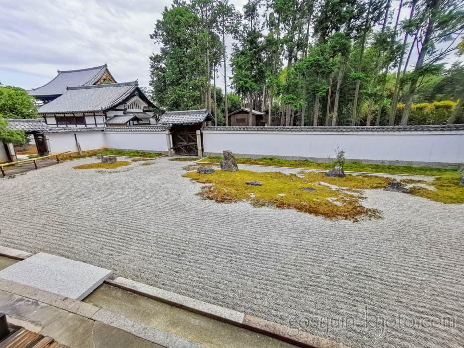 京都の大光明寺の庭