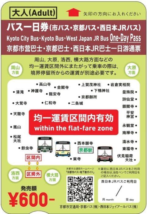バス1日乗車券