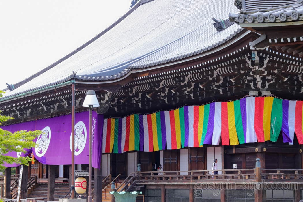 京都市東山区の知恩院の御影堂