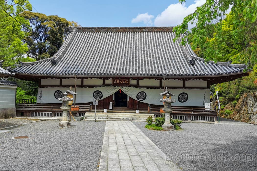 京都市東山区の知恩院の勢至堂