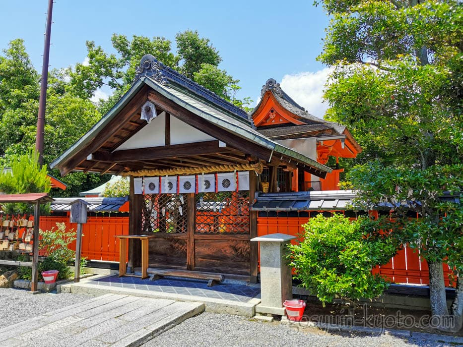 福王子神社の本殿