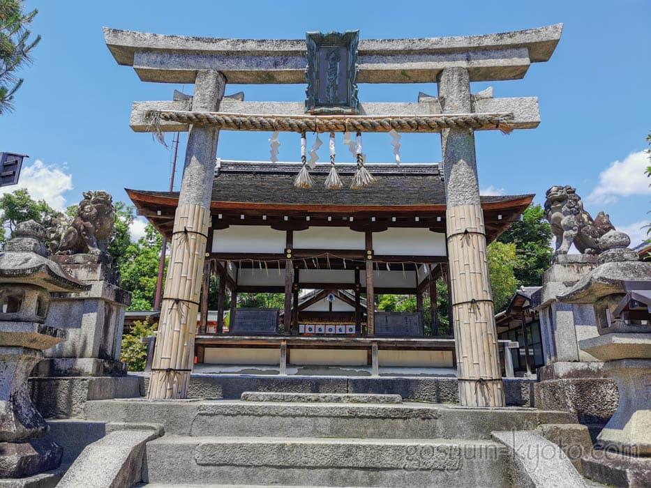 福王子神社の鳥居