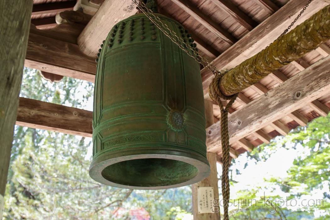 京都市右京区の西明寺の鐘
