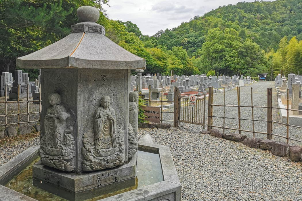 京都市右京区の化野念仏寺