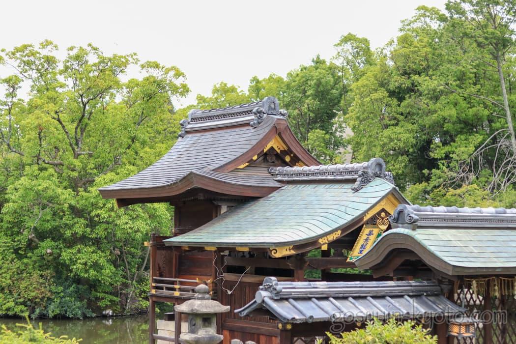 京都市中京区の神泉苑の善女龍王