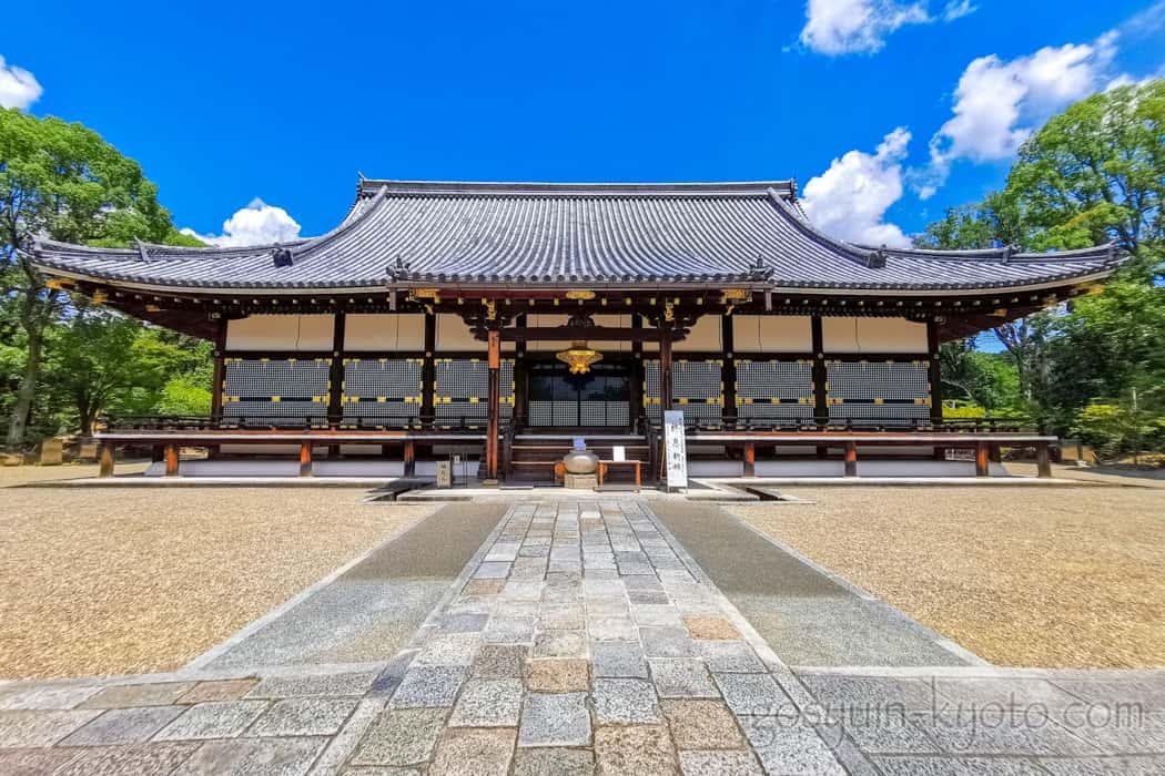仁和寺の金道