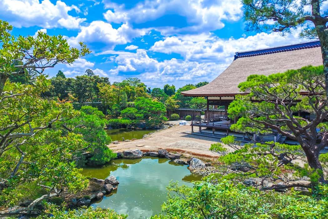 仁和寺の御所庭園