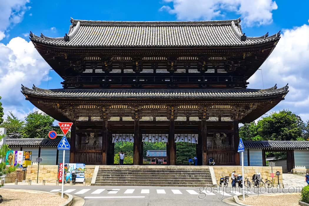 仁和寺の山門