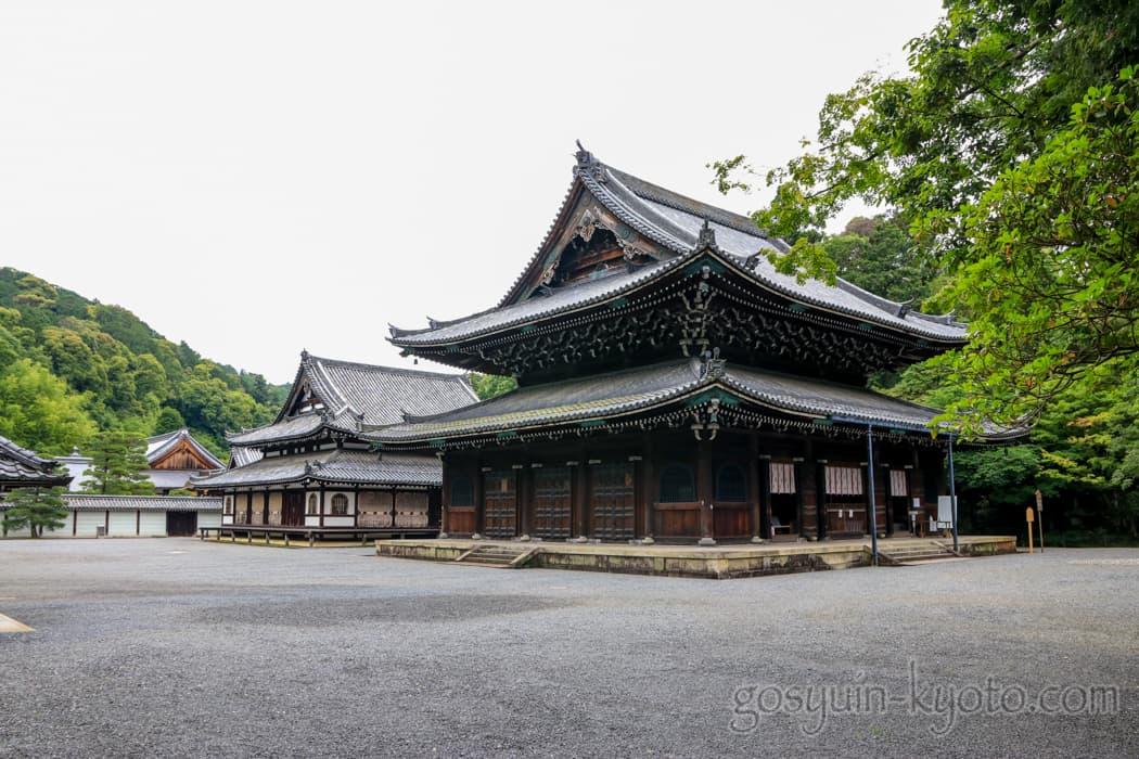 京都市東山区の泉涌寺