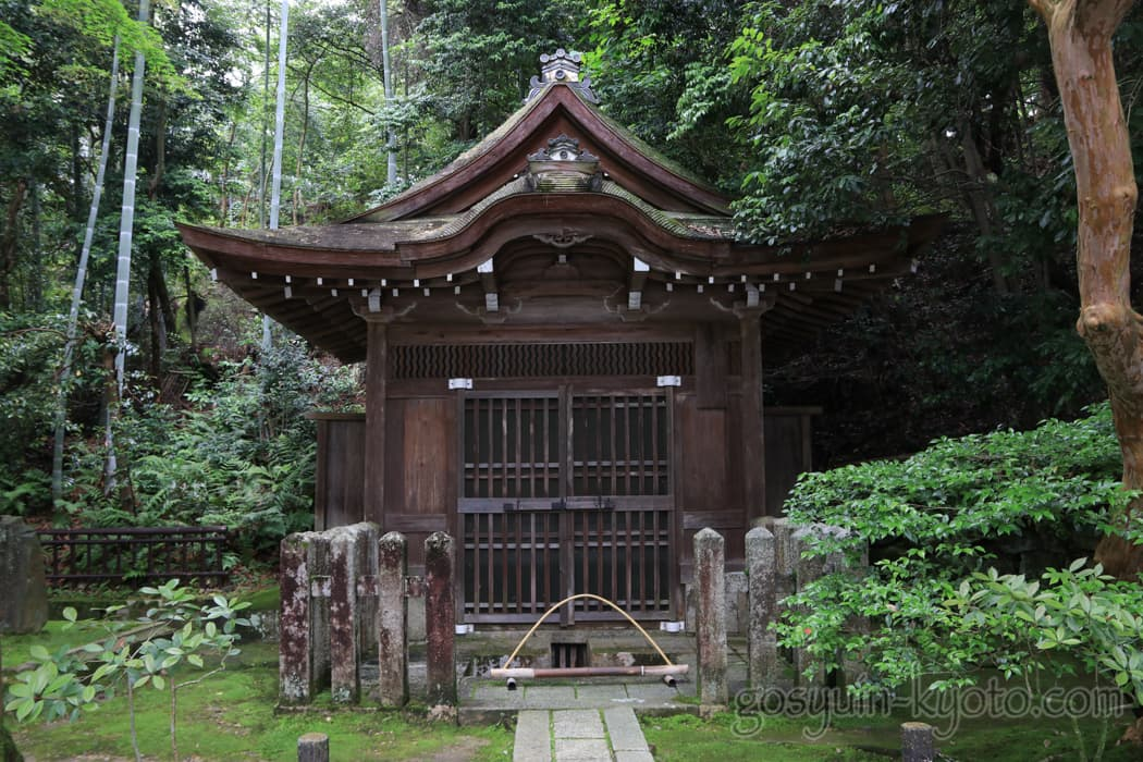 泉涌寺の水屋形
