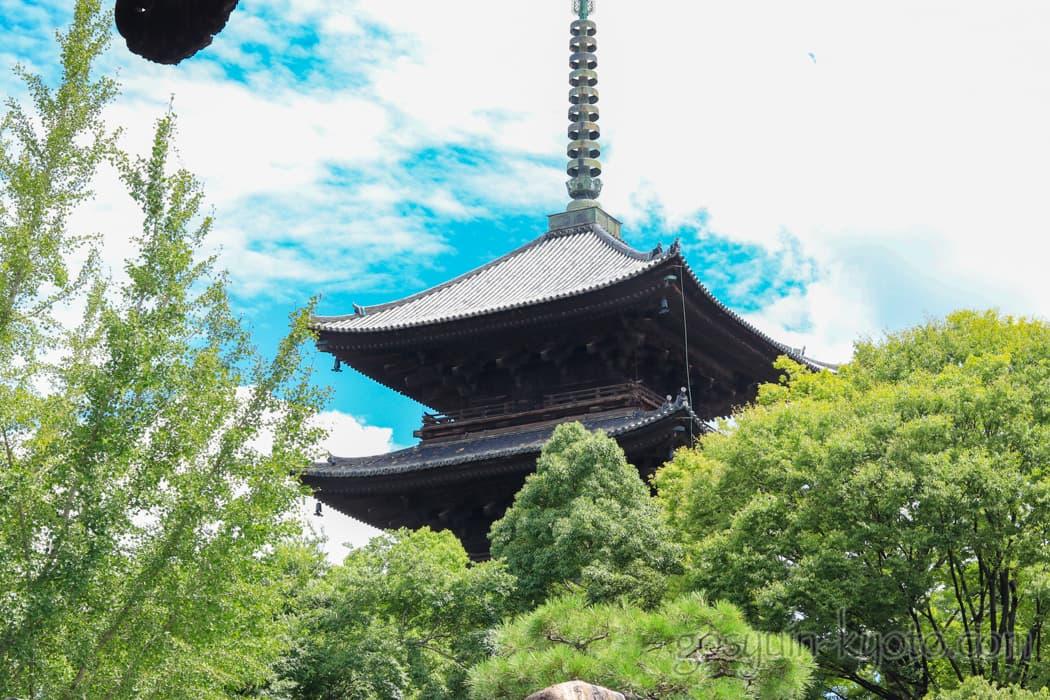 京都市南区の東寺