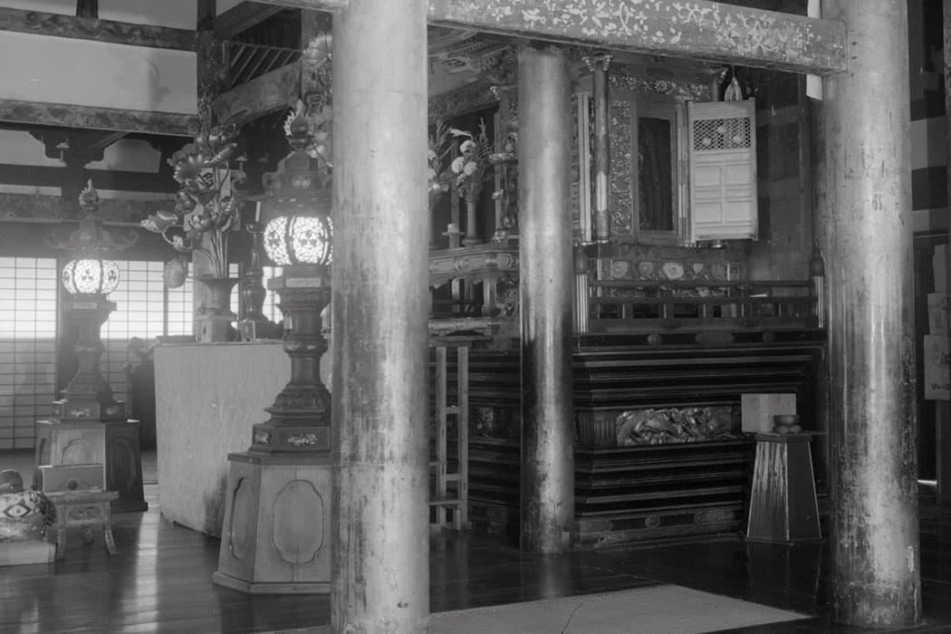 永観堂禅林寺の阿弥陀堂内