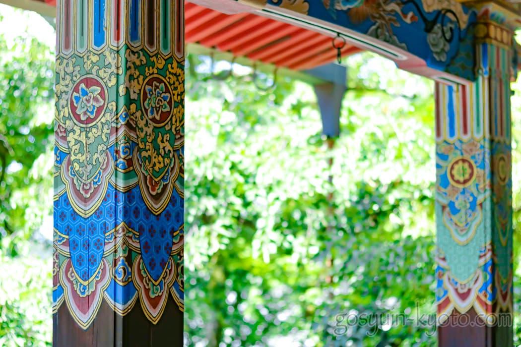 京都市左京区の永観堂禅林寺の新緑