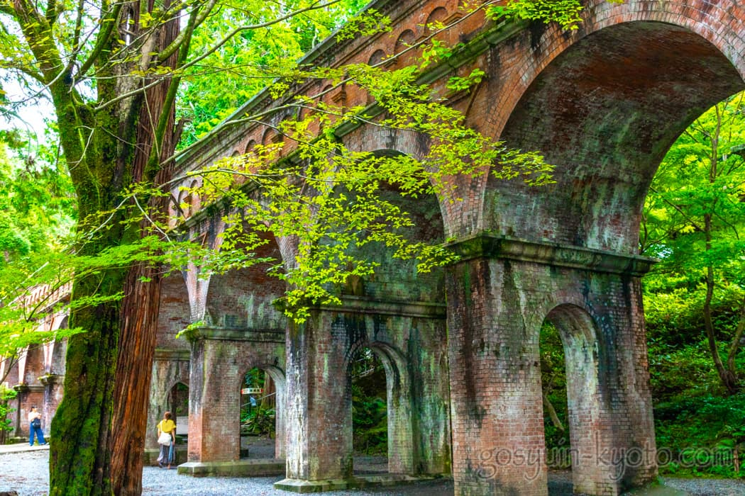 京都市左京区の南禅寺の水路閣