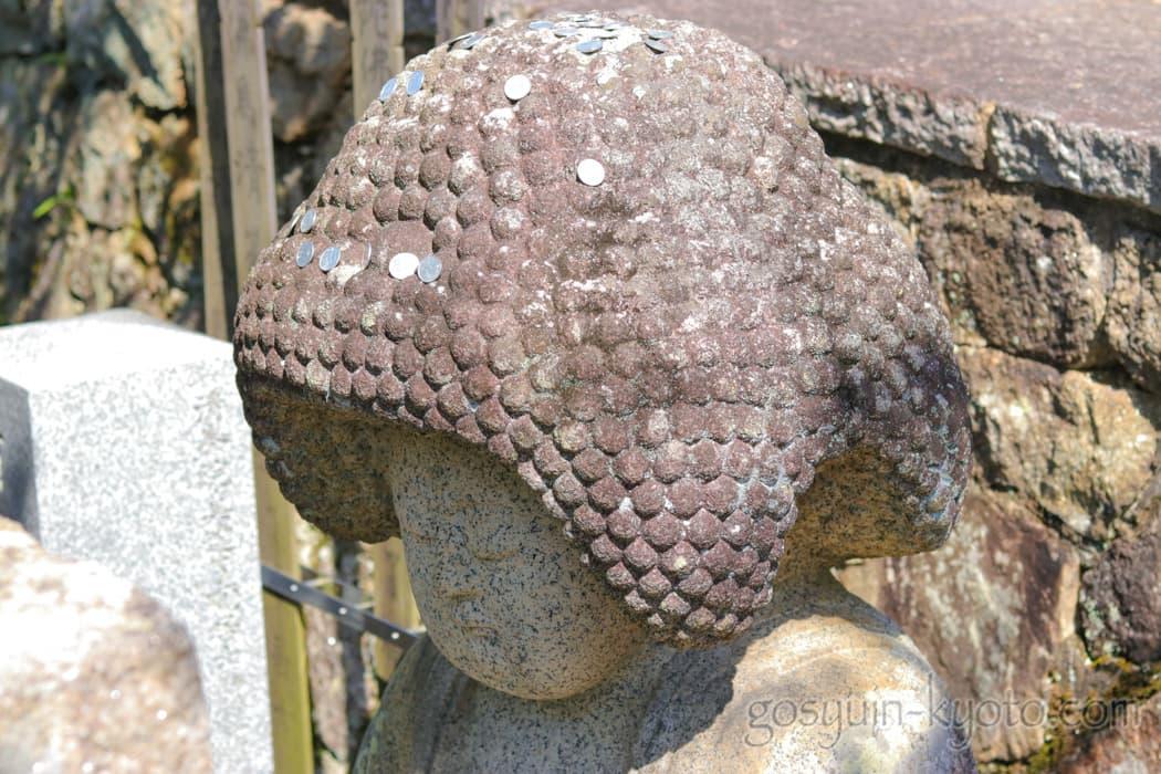 京都市左京区の金戒光明寺のアフロ仏
