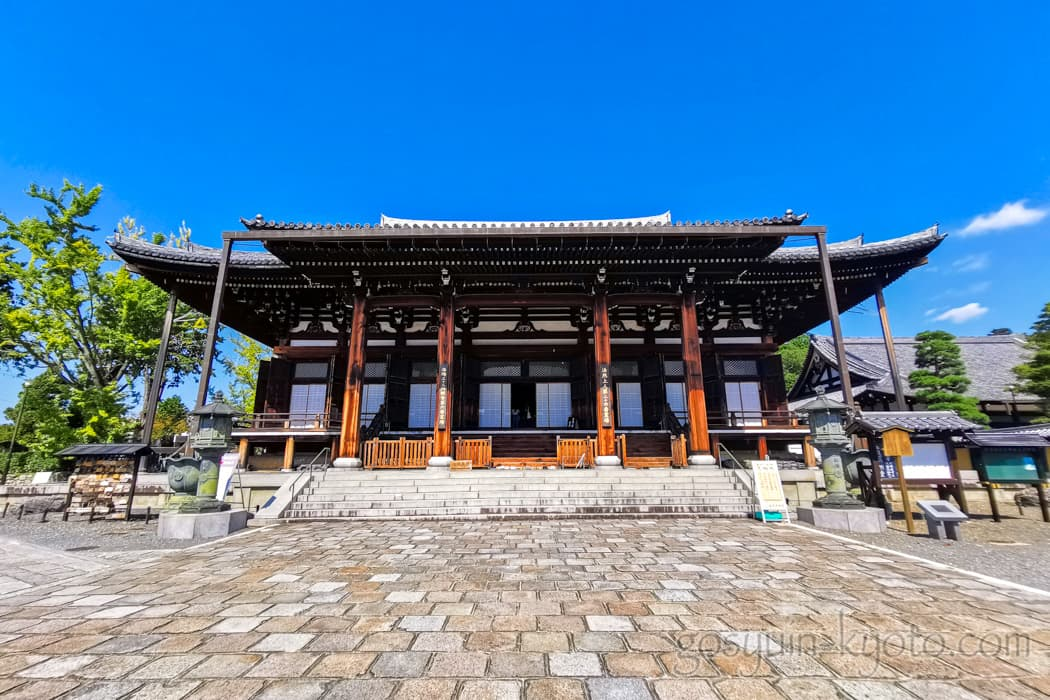 京都市左京区の金戒光明寺の御影堂