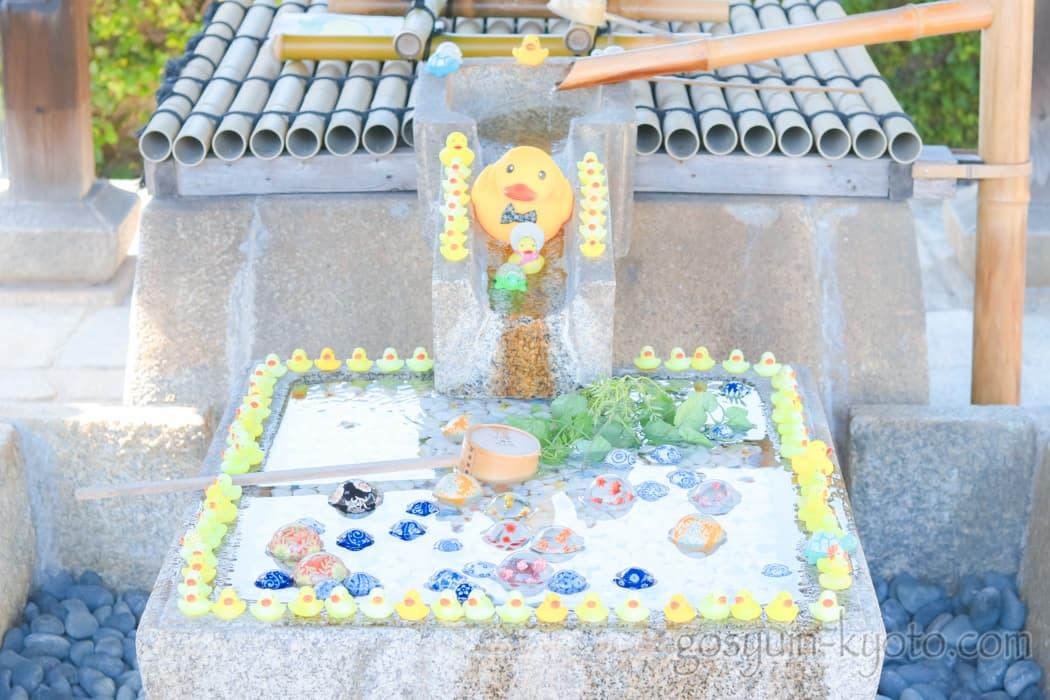京都市左京区の金戒光明寺の玉手水