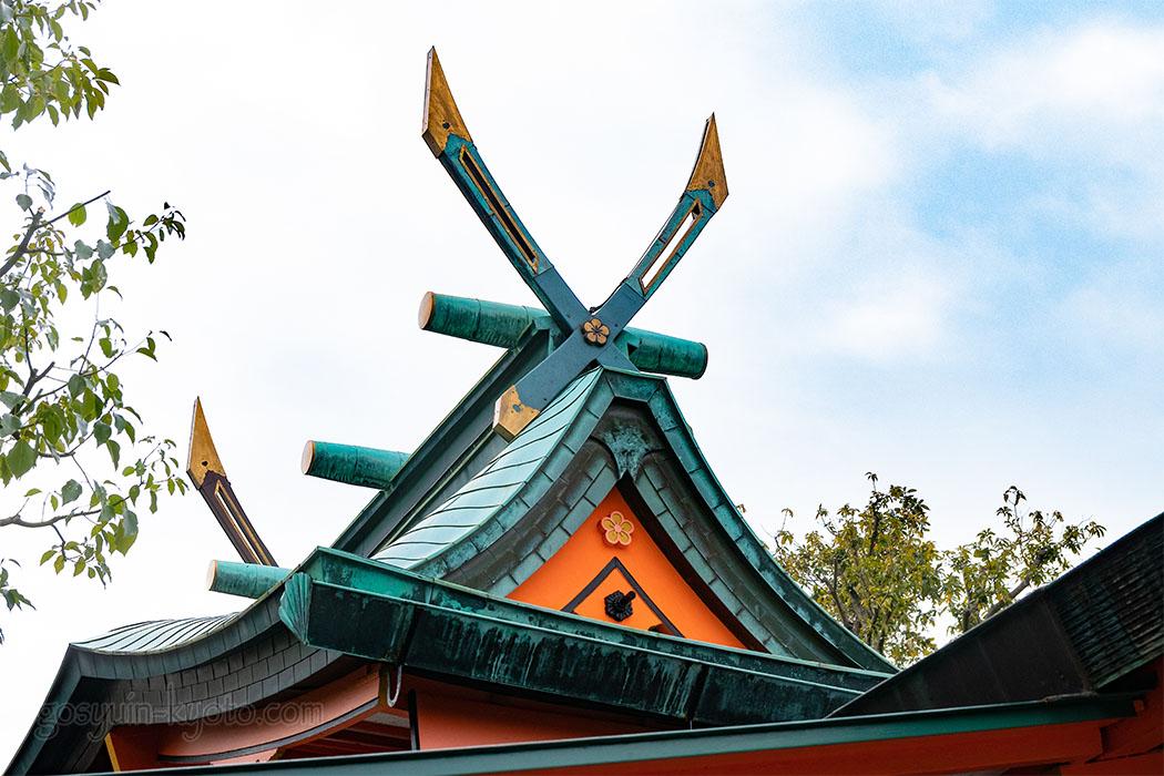 東丸神社の春日造り