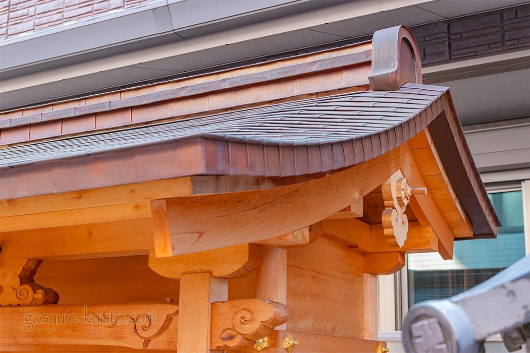 花咲稲荷神社の社殿
