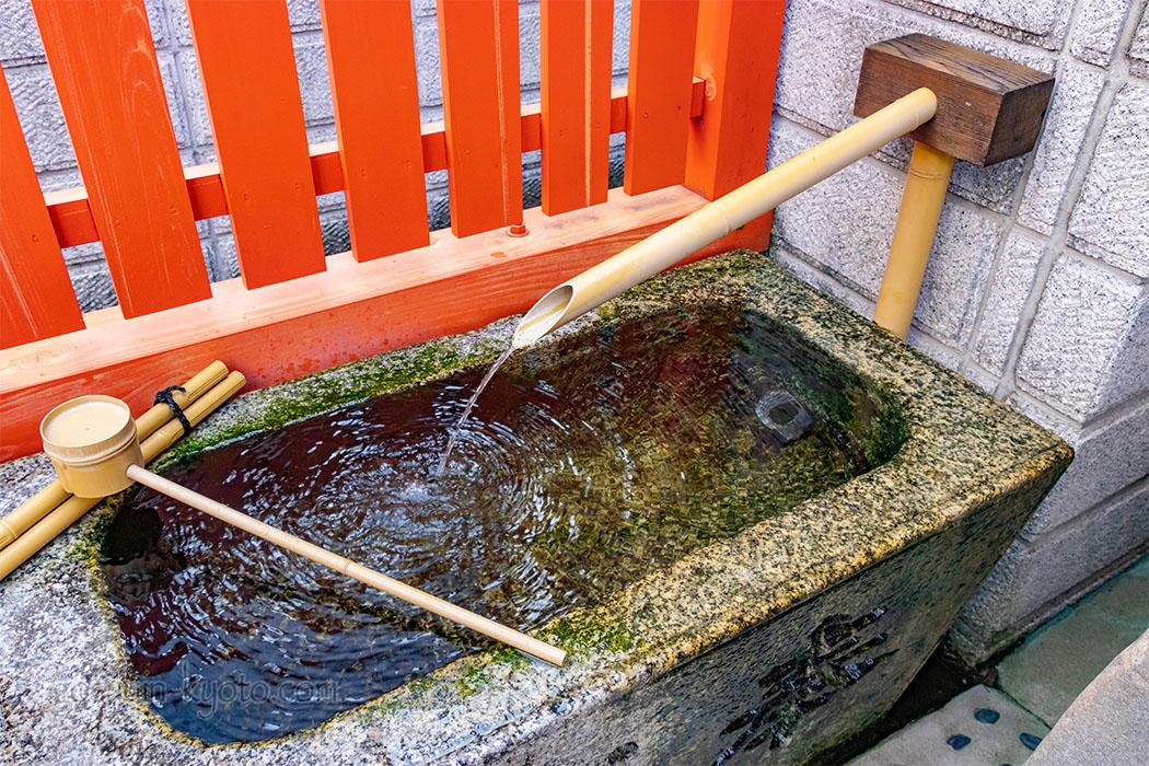 花咲稲荷神社の手水鉢